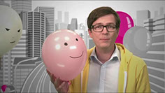 Ralp Caspers hosting a social media tutorial video for German Telekom